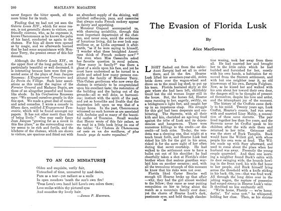 Article Preview: The Evasion of Florida Lusk, September 1911 | Maclean's