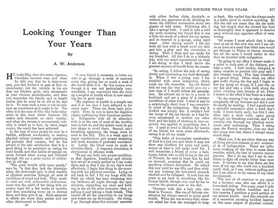 Article Preview: Looking Younger Than Your Years, September 1911 | Maclean's