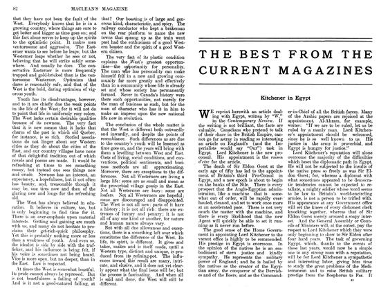 Article Preview: THE BEST FROM THE CURRENT MAGAZINES, November 1911 | Maclean's