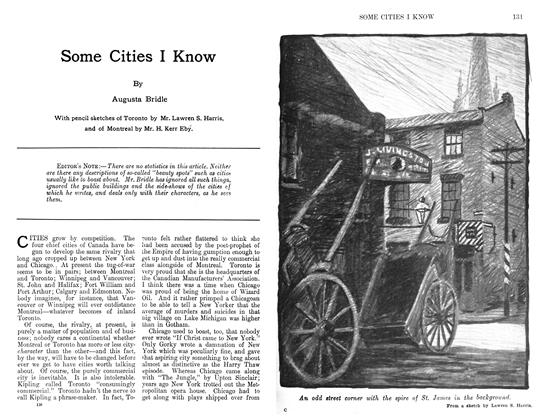 Article Preview: Some Cities I Know, December 1911 | Maclean's