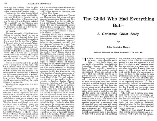Article Preview: The Child Who Had Everything But—, December 1911 | Maclean's