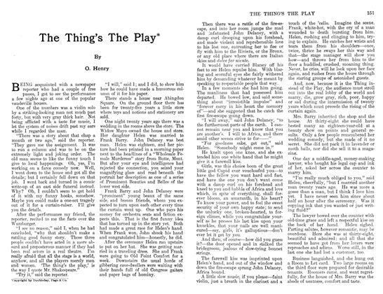 Article Preview: The Thing's The Play, December 1911 | Maclean's