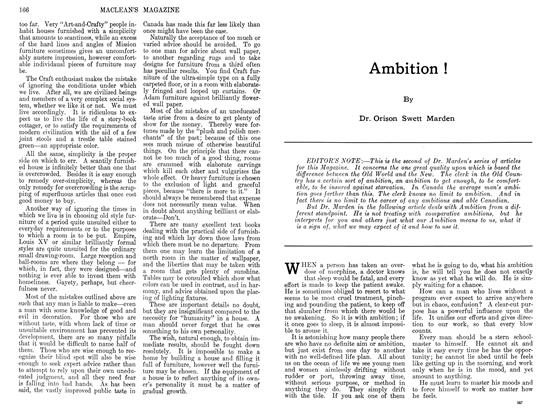 Article Preview: Ambition !, December 1911 | Maclean's