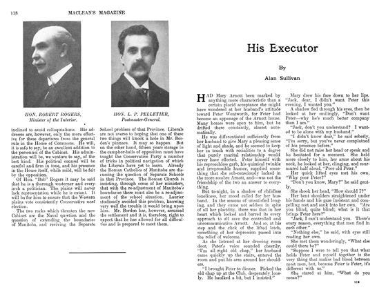 Article Preview: His Executor, December 1911 | Maclean's