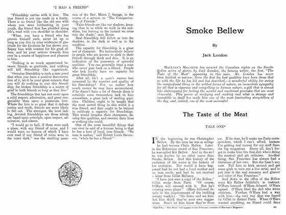 Article Preview: Smoke Bellew, January 1912 | Maclean's