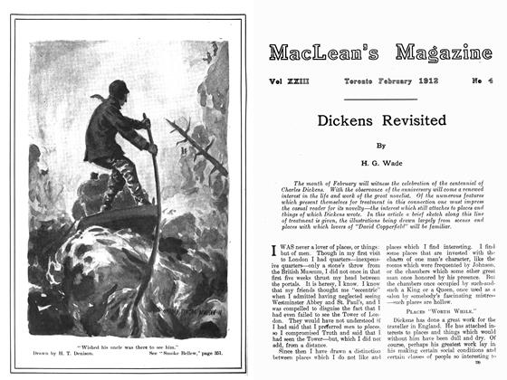 Article Preview: Smoke Bellew, February 1912 | Maclean's