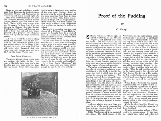 Article Preview: Proof of the Pudding, February 1912 | Maclean's