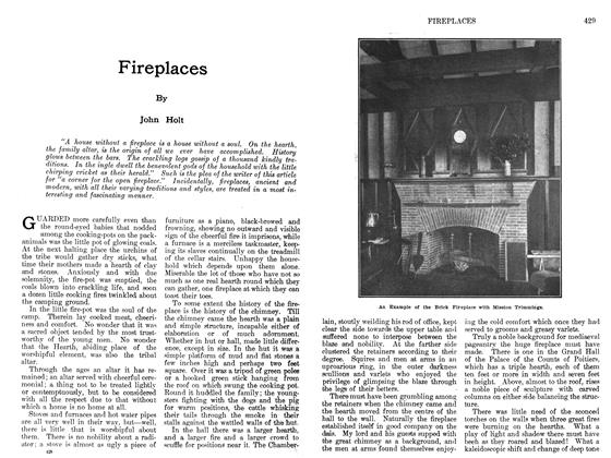 Article Preview: Fireplaces, February 1912 | Maclean's