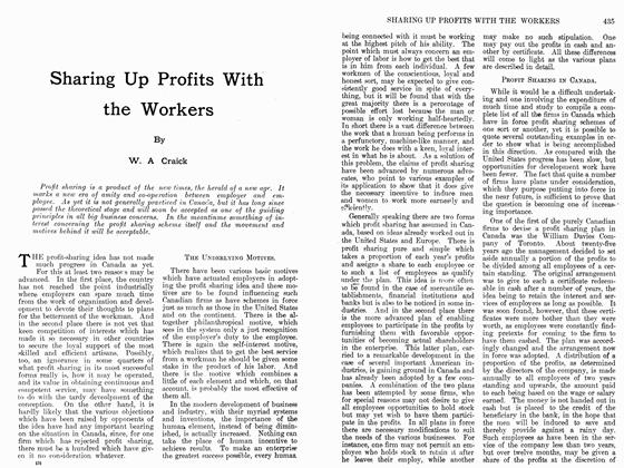 Article Preview: Sharing Up Profits With the Workers, February 1912 | Maclean's