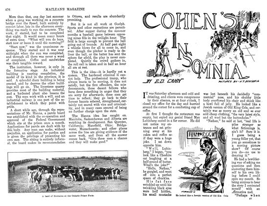 Article Preview: COHEN'S INSOMNIA, March 1912 | Maclean's