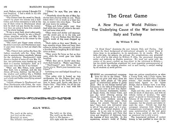 Article Preview: The Great Game, March 1912 | Maclean's