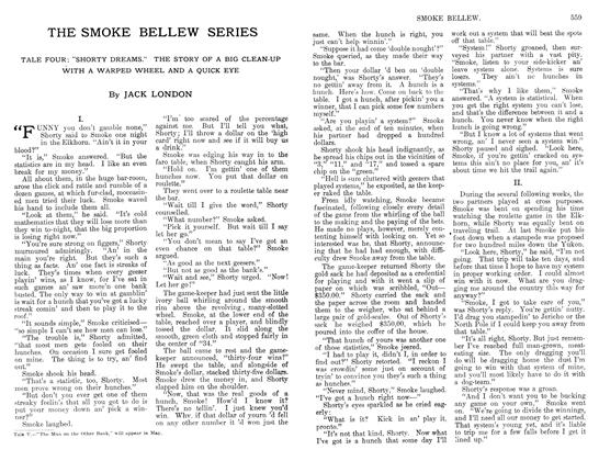 Article Preview: THE SMOKE BELLEW SERIES, April 1912 | Maclean's