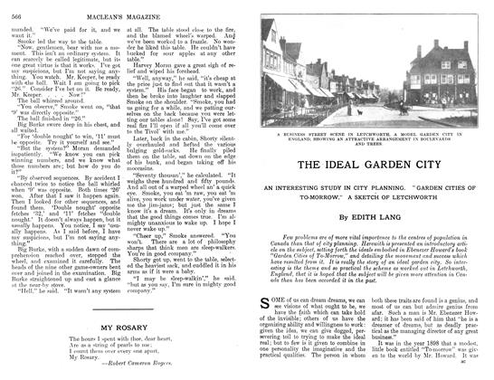 Article Preview: THE IDEAL GARDEN CITY, April 1912 | Maclean's