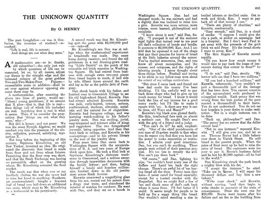 Article Preview: THE UNKNOWN QUANTITY, April 1912 | Maclean's