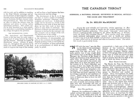 Article Preview: THE CANADIAN THROAT, April 1912 | Maclean's