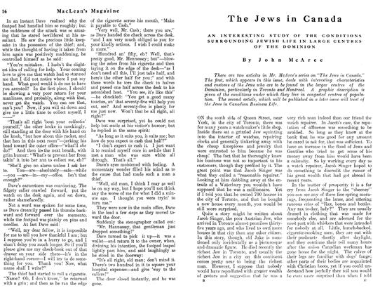 Article Preview: The Jews in Canada, May 1912 | Maclean's