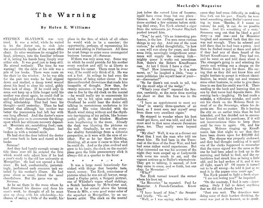 Article Preview: The Warning, May 1912 | Maclean's