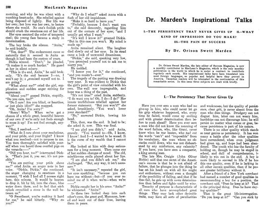 Article Preview: Dr. Marden's Inspirational Talks, June 1912   Maclean's