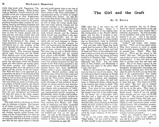 Article Preview: The Girl and the Graft, June 1912 | Maclean's