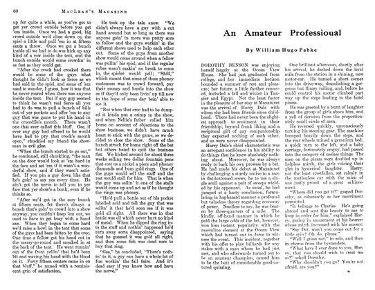 Article Preview: An Amateur Professioual, July 1912 | Maclean's