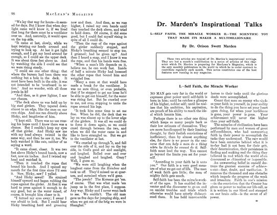 Article Preview: Dr. Marden's Inspirational Talks, July 1912 | Maclean's