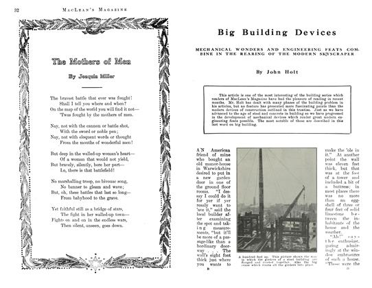 Article Preview: Big Building Devices, July 1912 | Maclean's