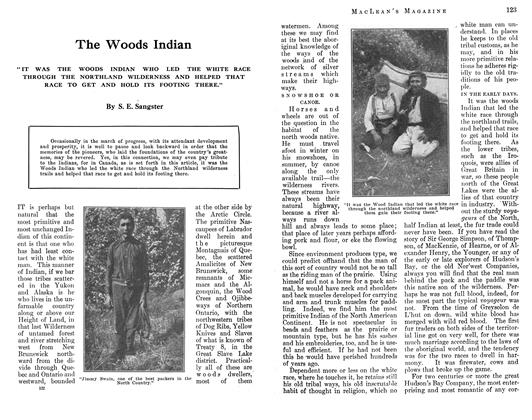Article Preview: The Woods Indian, August 1912 | Maclean's