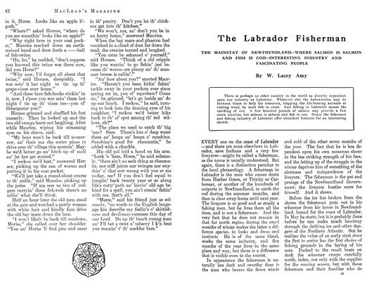 Article Preview: The Labrador Fisherman, August 1912 | Maclean's