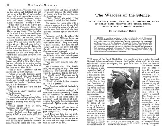 Article Preview: The Warders of the Silence, September 1912 | Maclean's