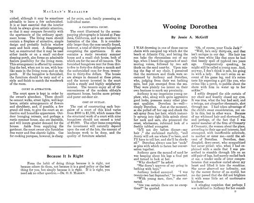 Article Preview: Wooing Dorothea, September 1912 | Maclean's