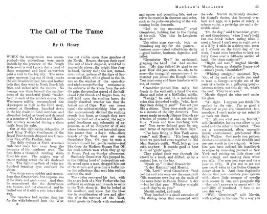 Article Preview: The Call of The Tame, November 1912 | Maclean's