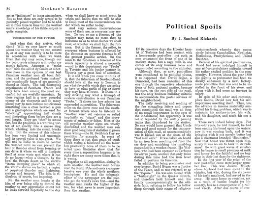 Article Preview: Political Spoils, November 1912 | Maclean's