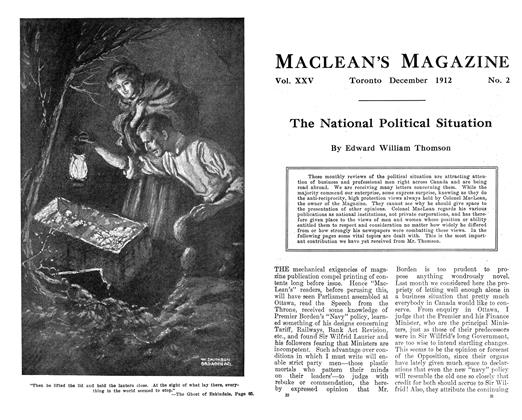 Article Preview: The Ghost of Eskindale, December 1912 | Maclean's