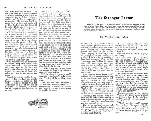 Article Preview: The Stronger Factor, February 1913   Maclean's