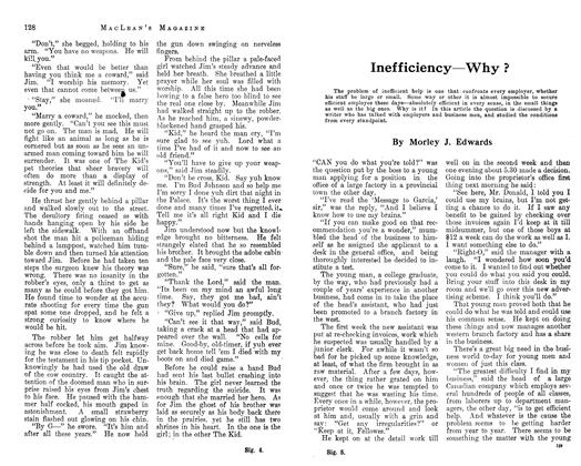 Article Preview: Inefficiency—Why ?, February 1913 | Maclean's