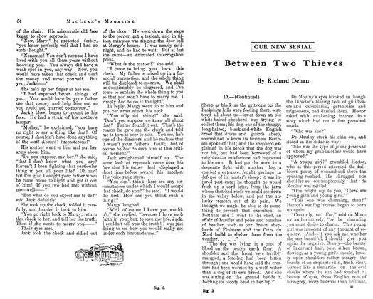Article Preview: Between Two Thieves, March 1913 | Maclean's