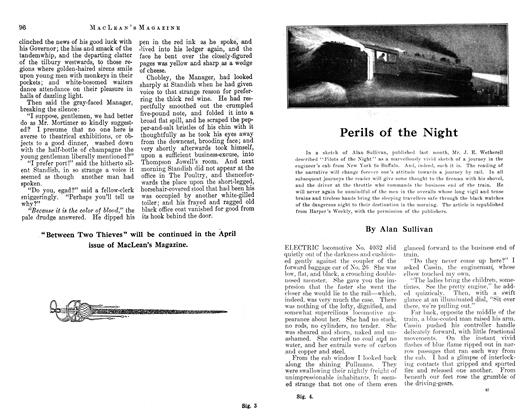 Article Preview: Perils of the Night, March 1913 | Maclean's