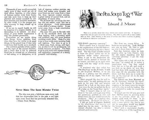 Article Preview: The Pea Soup's of War, March 1913 | Maclean's