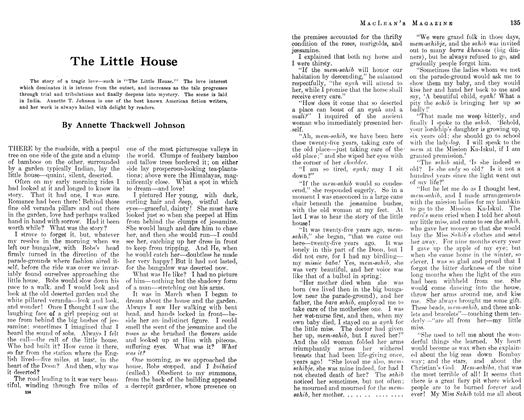 Article Preview: The Little House, March 1913 | Maclean's