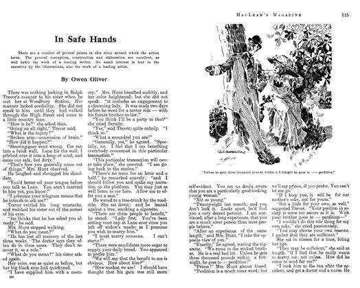 Article Preview: In Safe Hands, April 1913 | Maclean's
