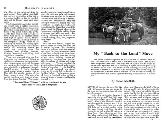 "Article Preview: My ""Back to the Land"" Move, May 1913 