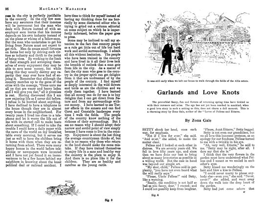 Article Preview: Garlands and Love Knots, May 1913 | Maclean's