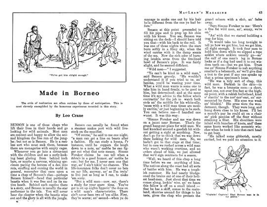 Article Preview: Made in Borneo, June 1913 | Maclean's
