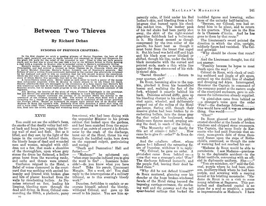 Article Preview: Between Two Thieves, June 1913 | Maclean's