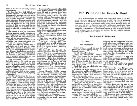 Article Preview: The Print of the French Heel, July 1913 | Maclean's