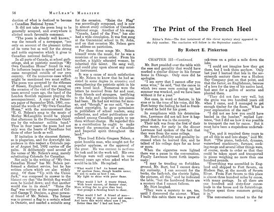 Article Preview: The Print of the French Heel, August 1913 | Maclean's