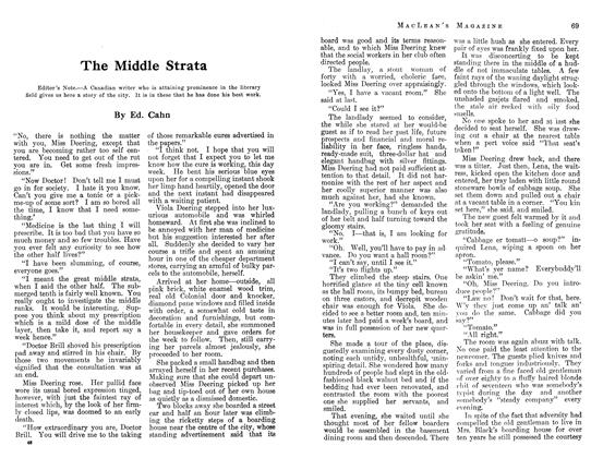 Article Preview: The Middle Strata, August 1913 | Maclean's