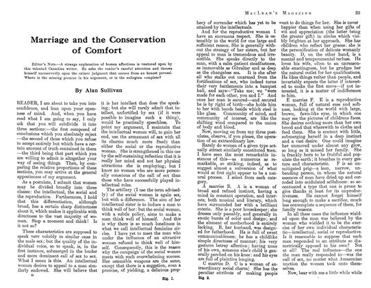 Article Preview: Marriage and the Conservation of Comfort, August 1913 | Maclean's