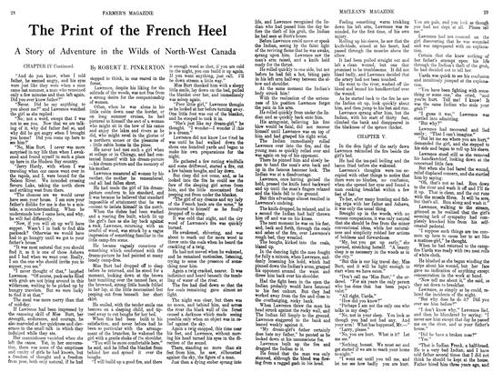 Article Preview: The Print of the French Heel, September 1913 | Maclean's
