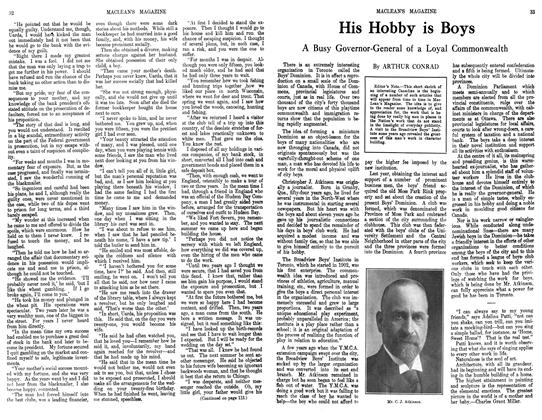 Article Preview: His Hobby is Boys, September 1913 | Maclean's
